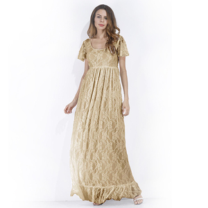 Image 5 - Women Dress Maternity Photography Props Lace Pregnancy Clothes Maternity Dresses for Pregnant Photo Shoot Cloth Plus 2019 New