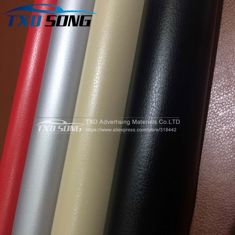 Good quality Leather pattern PVC vinyl wrap film sticker for auto car body internal decoration vinyl wrap free ship 50 152cm leather pattern adhesive pvc vinyl film sticker auto car internal external decoration vinyl wrap decal car styling