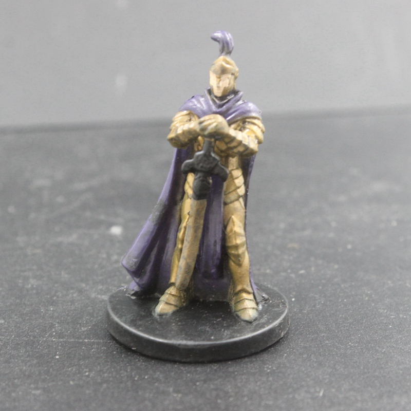 D&D Miniatures Dungeon Command Heart Of Cormyr DRAGON KNIGHT #02 Human Paladin