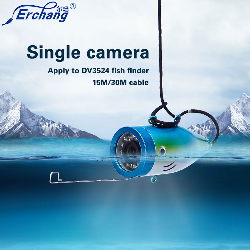 Erchange 15m 30 50m cable Single Camera Apply DV3524 Model Fish Finders