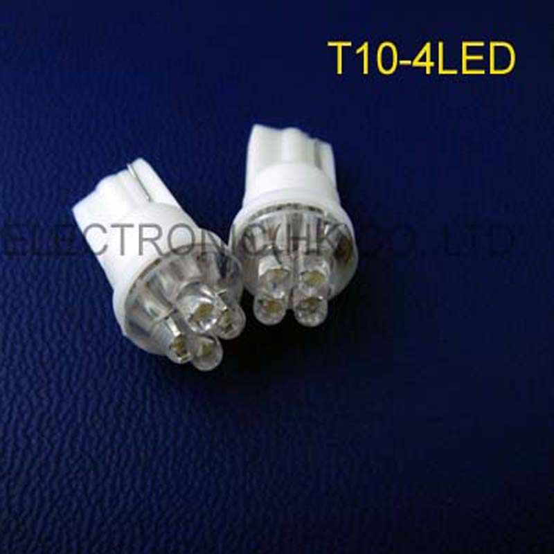Yüksek kaliteli 12v T10 led pano uyarı göstergesi, t10 w5w 194 168 led gösterge işığı ücretsiz kargo 200 adet/grup