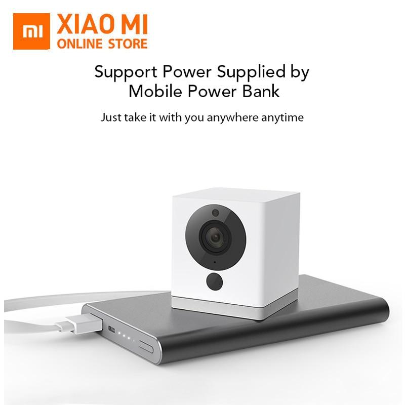 Original Xiaomi CCTV Mijia 1S 110 Degree F2.0 8X 1080P Digital Zoom Smart Camera IP WIFI Wireless Camaras Cam PK Dafang