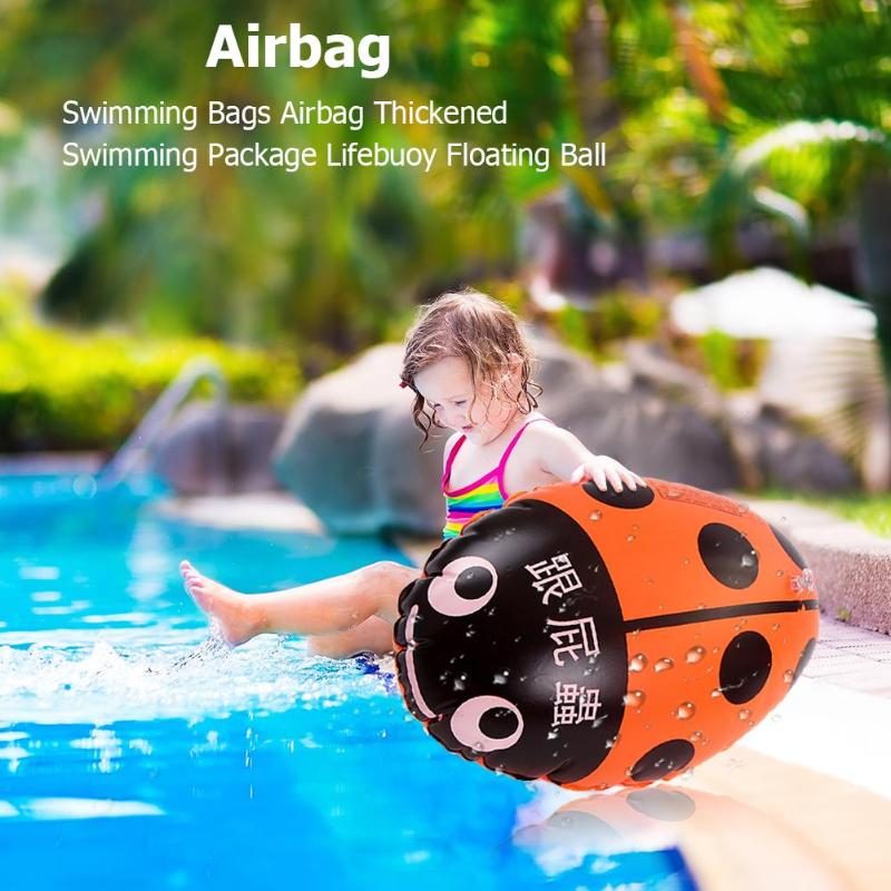 Swimming Bags Airbag Inflatable Thickened Swimming Package Safety Outdoor Drift Lifebuoy Floating Ball Swimming Aid Floating Bag