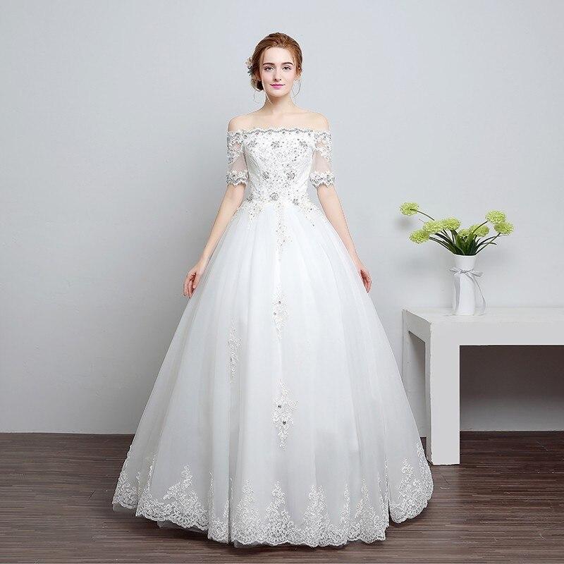 Real Maine Weddings 2017: Real Photo Fashion Grils Wedding Dress 2017 Spring Korean
