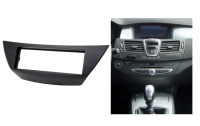 One Din Car Audio Facia for RENAULT Laguna III 2007+ Stereo Dash Kit Fitting Installation Fascia Face Plate Panel Frame