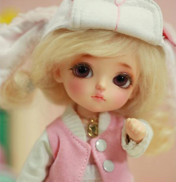 1 8 BJD Doll yellow Elly