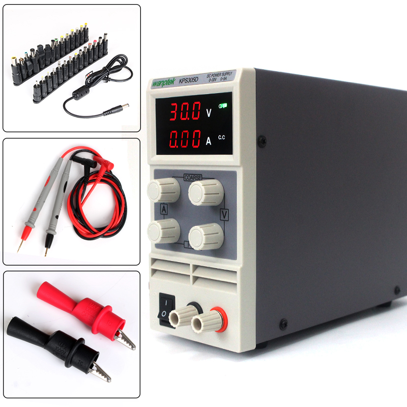 High Precision 30V 5A Switch DC power supply 0.1V 0.01A Digital Display Adjustable Mini DC Power Supply rps6005c 2 dc power supply 4 digital display high precision dc voltage supply 60v 5a linear power supply maintenance