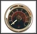 Doble puntero medidor de aire DUAL barómetro 0-220PSI agujas cara Negro bolsa de suspensión de aire de aire de presión neumática