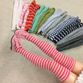 5 Pair/lot Cute Dolls Stripe Stocking for 1/6 Kurhn, Barbies, Momoko, Pullip, Blyth Doll Socks Clothes Accessories