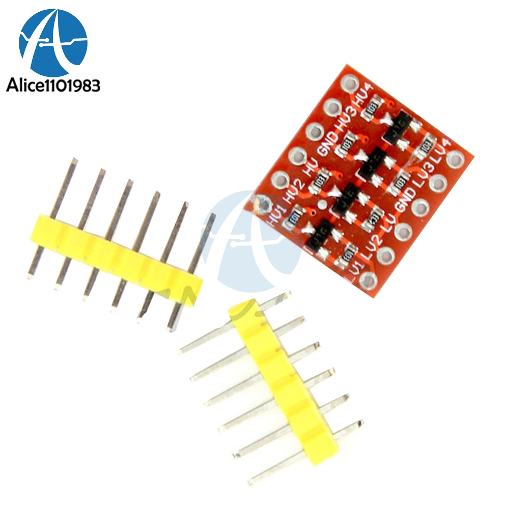 5Pcs 4 Channel I2C IIC Bi-Directional Logic Level Converter Diy Kit Electronic PCB Board Module For Arduino Compatible System