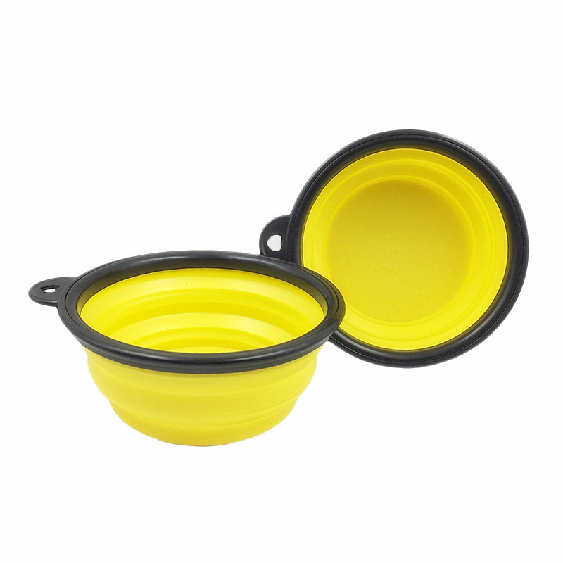 Collapsible Silicone Pet Food Bowl Portable Outdoor Travel Dog Food Container Water Drinking Bowl Dish Pet Feeding Accessories 17