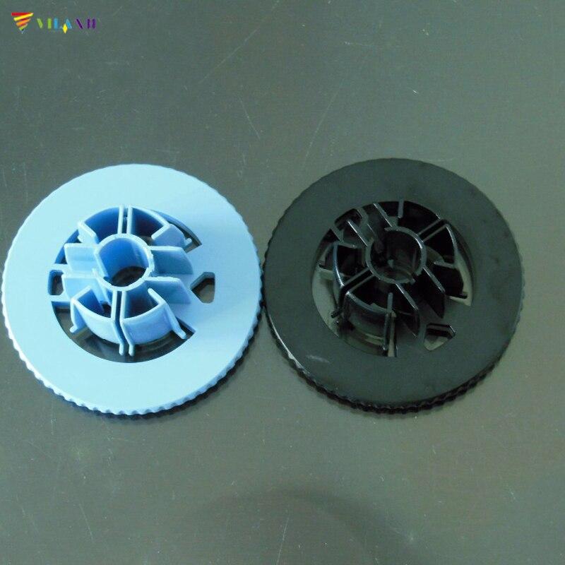 Vilaxh совместимый 1 пара синий и черный колпачок шпиндель концентратор Замена для HP DesignJet 500 800 части принтера C7769-40169