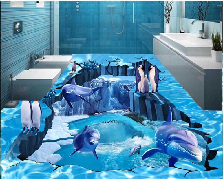 Idee mosaico piastrelle d decorazione delfini image of