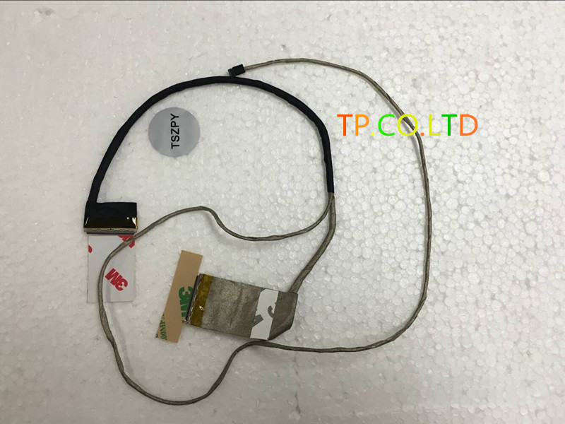 NEW Original LCD cable For Asus X751 X751L F751 laptop LVDS CABLE 14005-01190000 display LVDS cable X751 NON TOUCH LVDS 40pin new original black full lcd display
