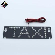 цена на Taxi led light 17.5X4.5cm led logo third brake light additional brake lights led refit car light for taxi