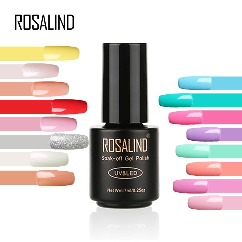 Gel Nail Polish Sale: Aliexpress.com : Buy ROSALIND 7ML Primer Nail Gel Polish