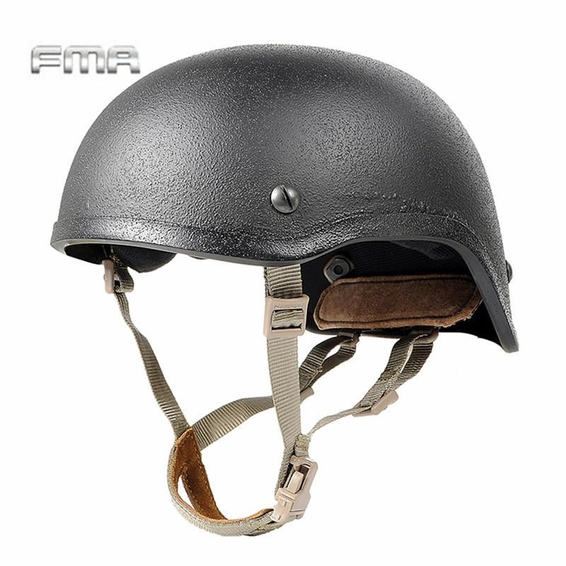 Prix pour FMA Airsoft Tactique Camping En Plein Air Casque Suspension Système H-Nuque pour MICH Casque Lanière Sling Accessoires Noir/Tan