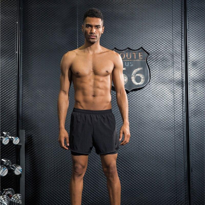 Для мужчин спортивные Шорты Training Футбол Теннис тренировки тренажерный зал Шорты для  ...
