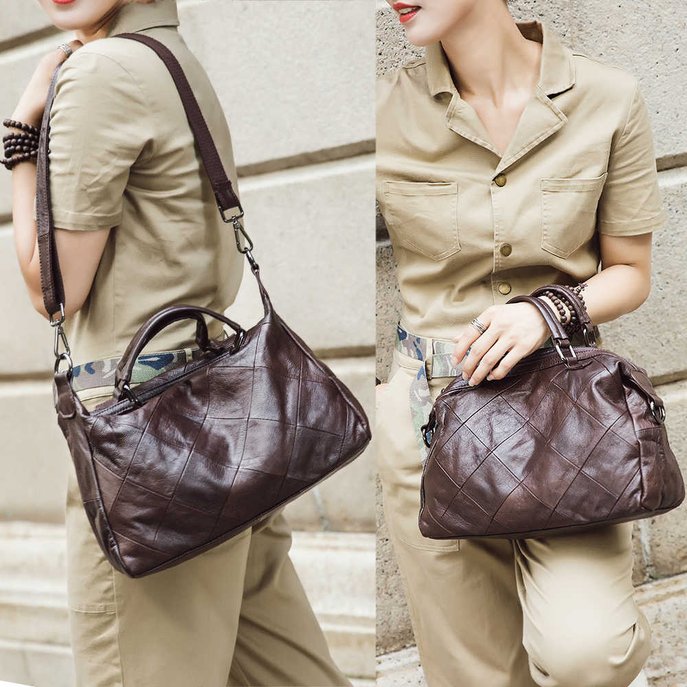 Женская сумка, мягкая, из 100% натуральной кожи