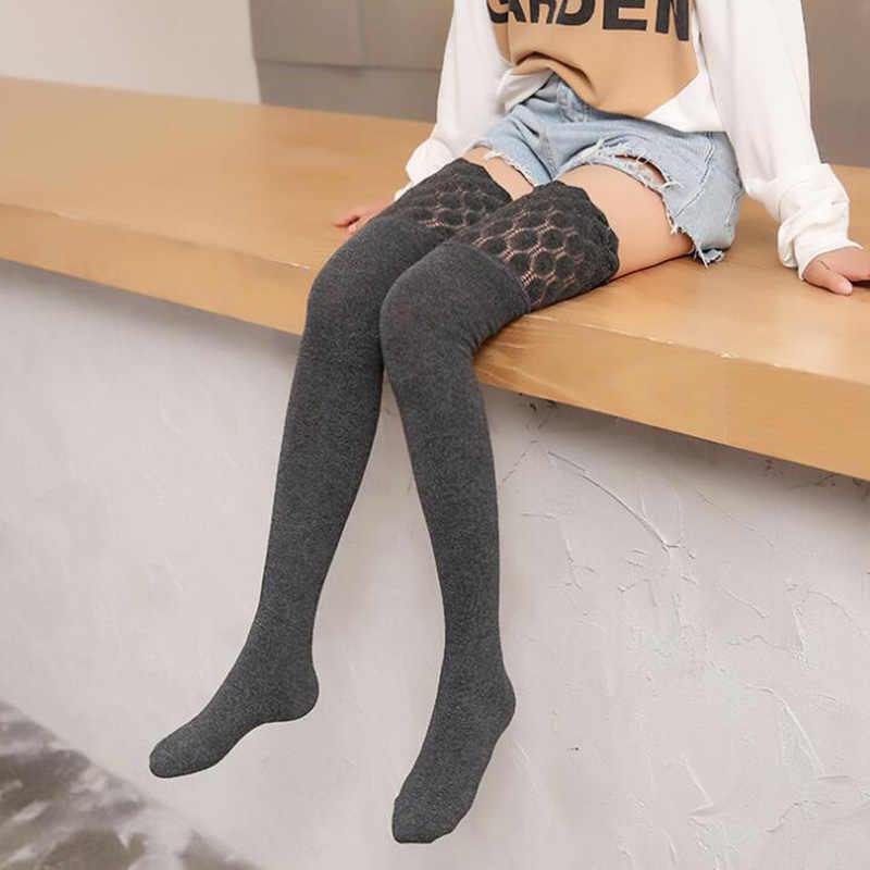 cb191876d Knee Socks Women Cotton Thigh High Over Knee Stockings For Ladies Fashion  Girls Warm Long Stocking