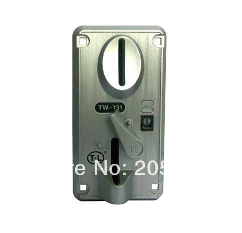 TW 131 Coin Device Coin Selector For Coin Operated Games Coin Collector For Kiddie Rides Suitable