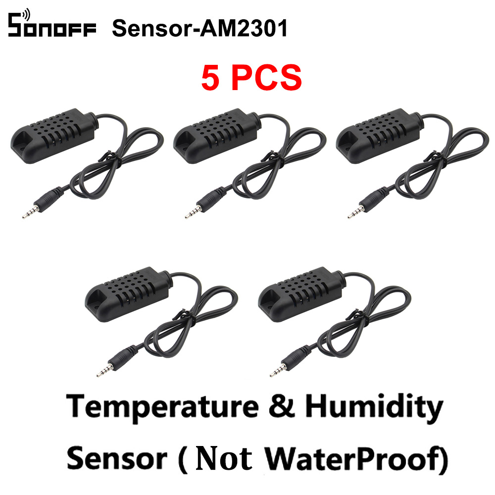5PCS/Lot Sonoff Sensor Si7021 Temperature Humidity Sensor Probe Monitor Sensor Module for Sonoff TH10/th16