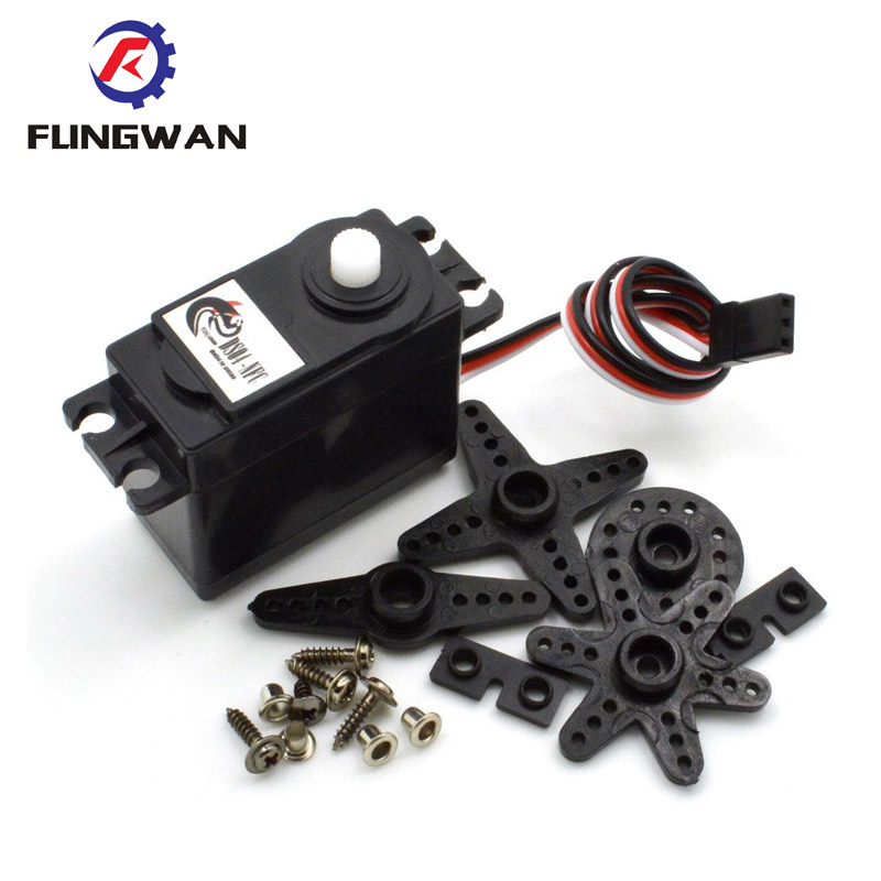 20Pieces DS04 NFC 360 degree continuous rotation servos 360 degree servo DC Gear Motor