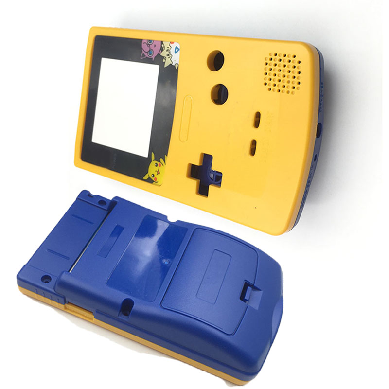 6PCS  Plastic New Hardcase Housing For Nintendo GBC Color GameBoy Console Case Shell Cover