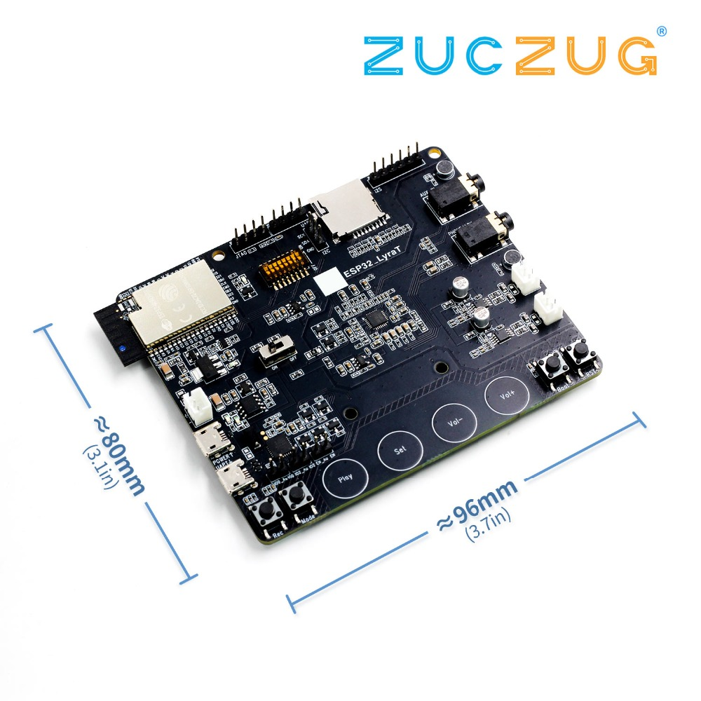 1 pcs x ESP32-LyraT for Audio IC Development Tools buttons, TFT display and camera supported ESP32 LyraT ESP32-LyraT1 pcs x ESP32-LyraT for Audio IC Development Tools buttons, TFT display and camera supported ESP32 LyraT ESP32-LyraT