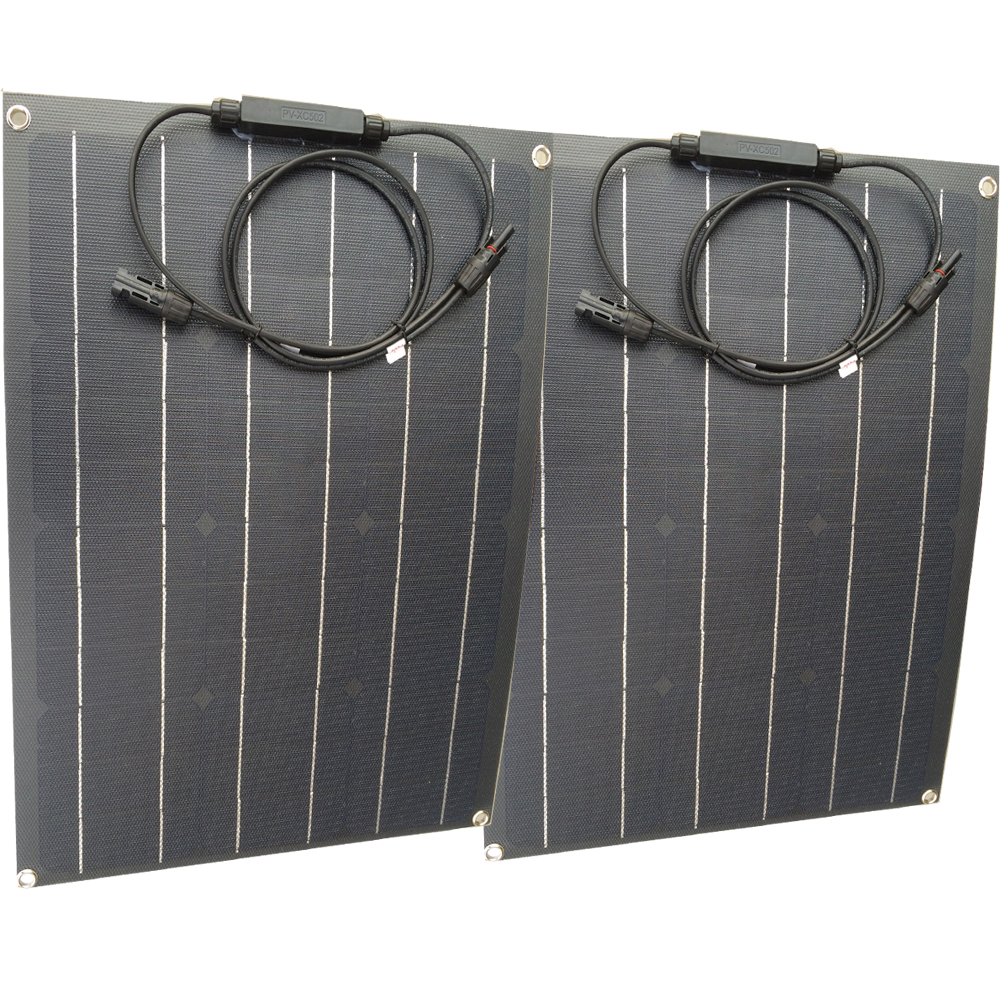 Newly ETFE solar panel 40w semi flexible china factory price solar cell 18V ETFE Coating panel