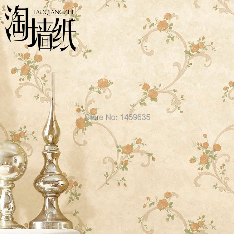 Small wallpaper non-woven wallpaper roll rattan rustic pink democracy women s mineral wash shark bite woven with roll tab sleeves
