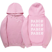 2017 High Quality Kanye West Men/Women Sweatshirt Hoodie Men Pink Skateboards Hoodie Male Cotton Sweat Kanye West clothing