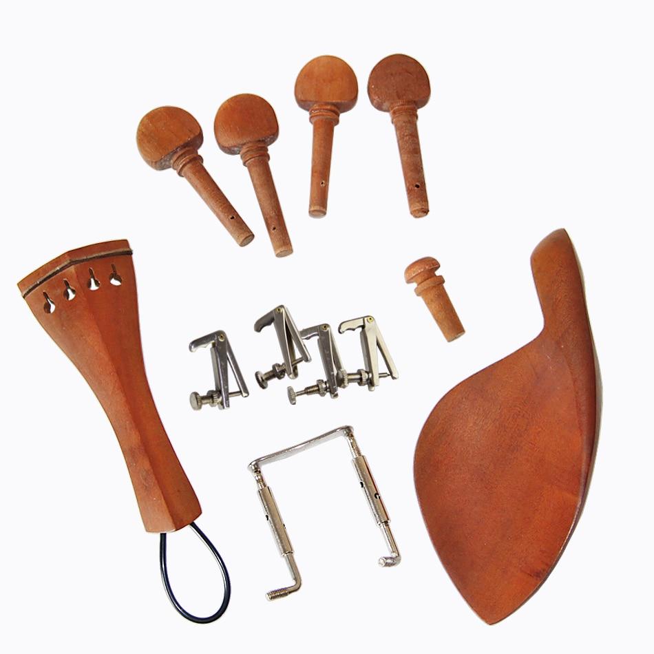 Juego de accesorios de violín acústico 4/4 de Jujube Wood, que - Instrumentos musicales - foto 2