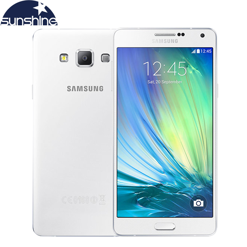 bilder für Original Samsung Galaxy A7 A7000 4G LTE handy octa-core 1080 P 5,5 ''13.0MP 2G RAM 16G ROM Dual SIM Smartphone