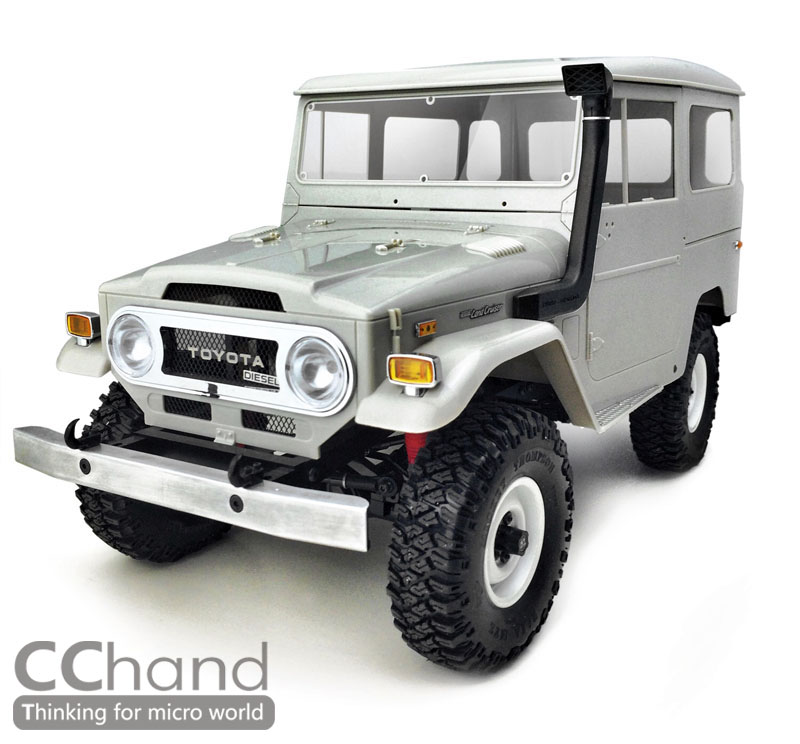 RC4WD Gelande II Truck Kit Cruiser fj40 JEEP Wrangler Z K0051 1/10 ...
