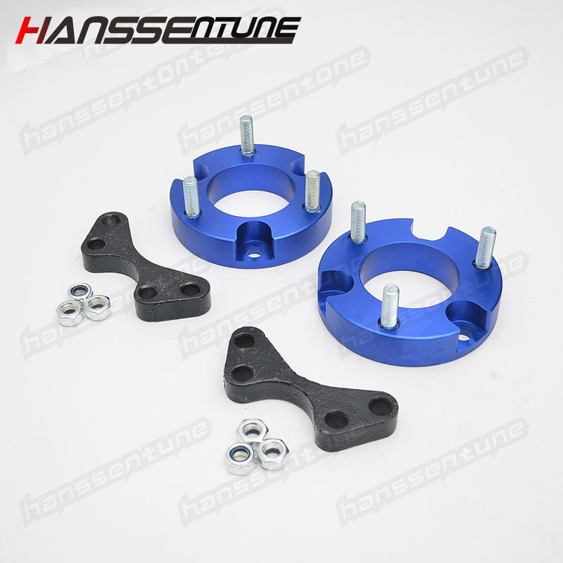 HANSSENTUNE 4x4 Accesorios 25mm Aluminum Front Coil Strut Shock Spacer Lift Kit for New D-MAX / Colorado 2012+