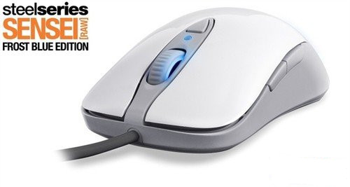 Original Steelseries SENSEI RAW Frostblue Gaming mouse, Steelseries Engine Steelseries Frost Blue Steelseries SENSEI RAW секреты raw александр ефремов