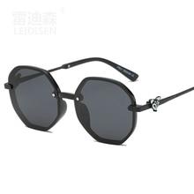Brand Designer Hexagonal Men Polarized Sunglasses Women Vintage Sun Glasses For Male Female Driving Oculos De Sol gafas цена в Москве и Питере