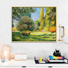 Forest  Claude Monet  Oil painting on canvas hight Quality Hand-painted Painting claude monet oil painting on canvas landscape painting lotus painting wall pictures for living room hight quality hand painted