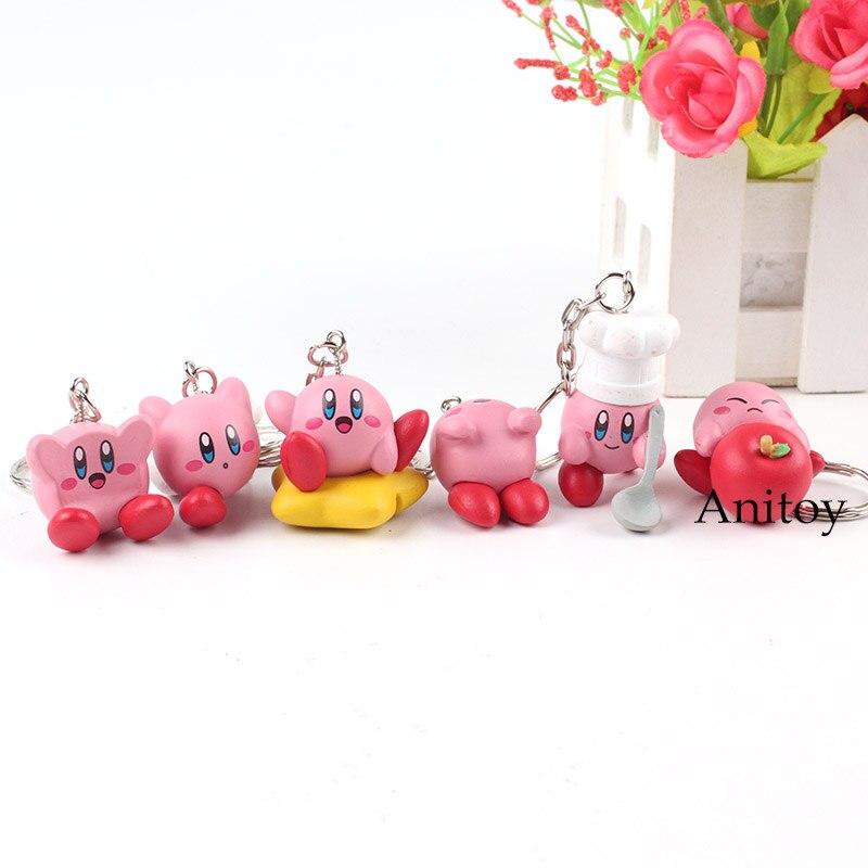 Kirby Toys Cute Keychains 1