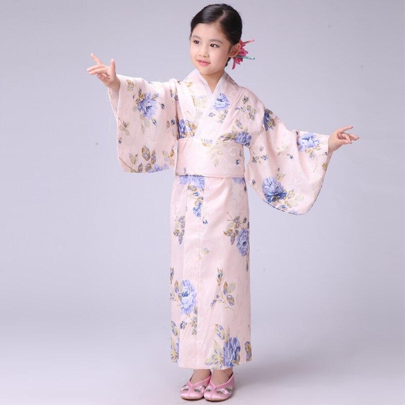 Japanese Dressing Gown: Aliexpress.com : Buy Blue Japanese Baby Girl Kimono Dress