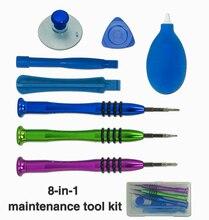 Universal Dual End Metal Spudger Set Prying Plastic Crowbar Open Tool Kit for iPhone Laptop Tablet iPad PC Repair Disassemble цена