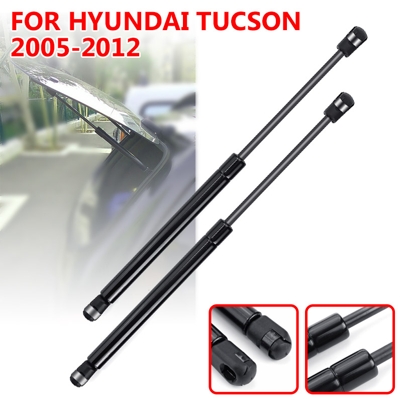 2X Car Rear Window Glass Gas Spring Shock Lift Strut Struts Support Bar Rod For Hyundai Tucson 2005 2006 2007 2008 2009   2012-in Strut Bars from Automobiles & Motorcycles