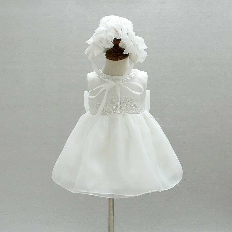 1 Year Birthday Party Dress Baby Girl Dresses For Baptism Infant Princess Lace Christening Gown Newborn Toddler Bebes Clothes infant baby girl dress 2017 brand newborn girls princess party dresses 1 year birthday gift baby girl clothes child clothing