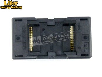 TSOP48 TSOP 48 OTS-48-0.5-12 TSOP48 TSOP 48 Enplas IC Test Burn-In Socket Programming Adapter 18.4mm Width 0.5mm Pitch