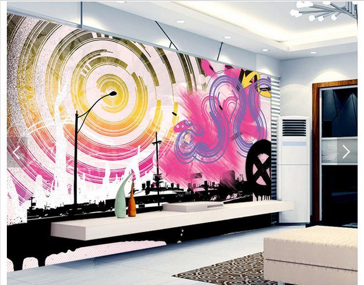 art woonkamer behang. Black Bedroom Furniture Sets. Home Design Ideas