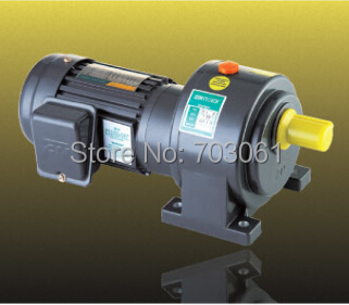 1500W single-phase motor small AC gear motor with 3# gearbox ratio 3~10 used for packer and assembly line 100w output power 22mm small ac gear motor 3 phase motor with 2 gearbox ratio 60 100