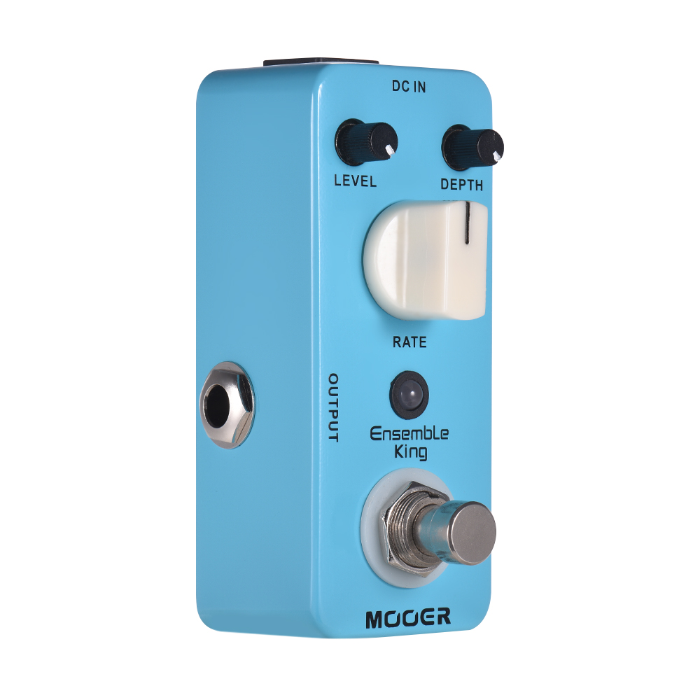 MOOER Ensemble King Analog Chorus Guitar Effect Pedal True Bypass Full Metal Shell High quality Guitar