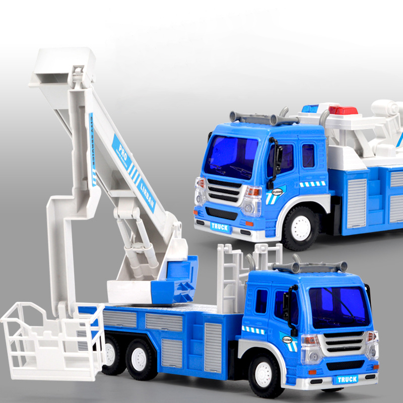 Children RC Trucks Electric Radio Remote Control Car Fire Rescue/Sprinkler/Trailer Engineering Vehicle Truck 2019 Toy Boys Kids 1 20 2 4g remote control car rc rescue fire engine truck toys