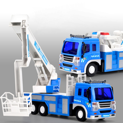 Children RC Trucks Electric Radio Remote Control Car Fire Rescue/Sprinkler/Trailer Engineering Vehicle Truck 2019 Toy Boys Kids